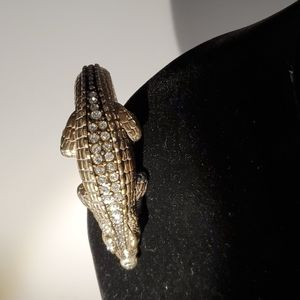 Vintage Brighton Alligator Bracelet